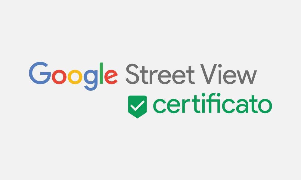 logo fotografo street view certificato