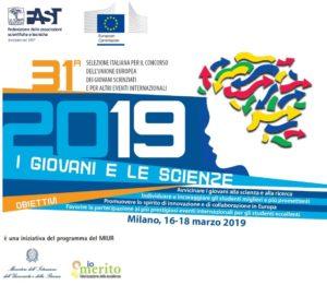 Concorso dell'UE per Giovani Scienziati 2019