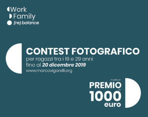 Work-Family (re)balance: contest per giovani fotografi