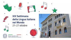 21-27 ottobre: Settimana della lingua italiana