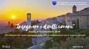 """25-28 novembre: Corso """"Insegnare i Diritti Umani"""""""