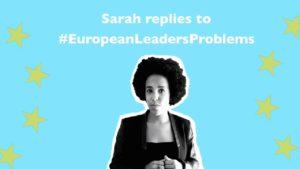 Campagna #EuropeanLeadersProblems