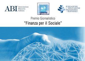 """Premio giornalistico """"Finanza per il sociale"""""""