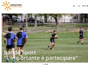 """Bando """"Sport – l'importante è partecipare"""""""